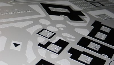 Image of a tactile map for Porterville College